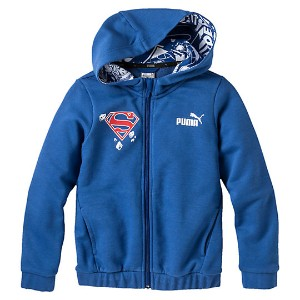 プーマ SUPERMAN HOODED SWEAT JACKET メンズ TRUE BLUE