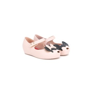 Mini Melissa - Ultragirl + Disney バレエシューズ - kids - レザー/PVC/rubber - 23