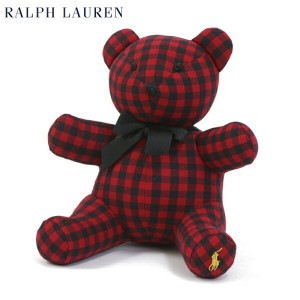 (BABY) POLO by Ralph Lauren Teddy Bear USラルフローレン ベイビー テディベア MULTI RED