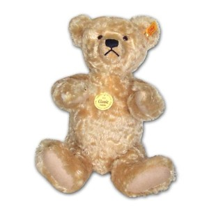 Steiff 000669 シュタイフ ぬいぐるみ テディベア 35cm Classic 1920 Jointed Teddy Bear with Growler (Blond)