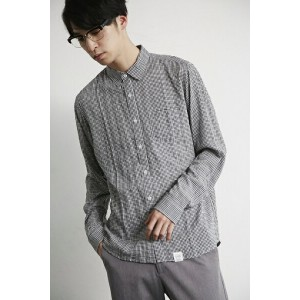 【AZUL by moussy】ギンガムチェック長袖ロングシャツ AZUL by moussy / アズール バイ マウジー【MARKDOWN】