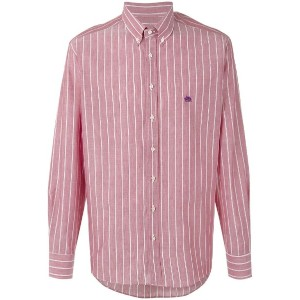 Etro - striped shirt - men - コットン/リネン - 42