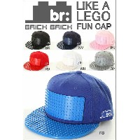 BRICK BRICK GEAR CAP OMEGA HATS PLATES AND BRIMS LIKE A LEGO BLOCK BRAND ブリックブリック キャップ ロスアンゼルス...