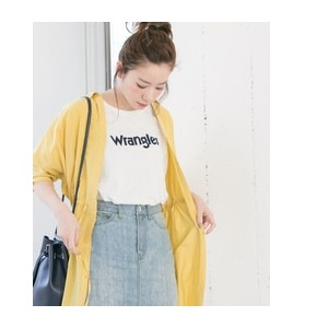 UR Wrangler×URBAN RESEARCH 別注BIGロゴTシャツ【アーバンリサーチ/URBAN RESEARCH Tシャツ・カットソー】