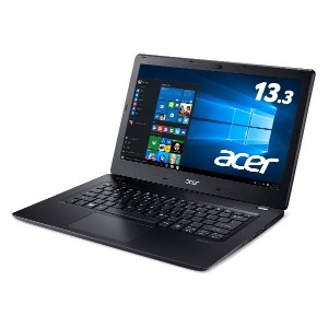 Acer ノートパソコン Aspire V13 V3-372-N34D/K Windows10/Core i3/13.3インチ/4GB/500GB