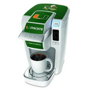 Keurig K10 Mini Plus University of Miami Decal Set [並行輸入品]