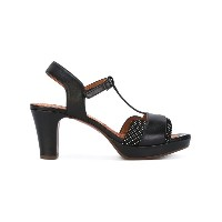 Chie Mihara - dots print sandals - women - レザー/Foam Rubber - 36