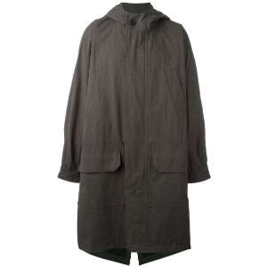 Hope - hooded parka coat - men - コットン - 48