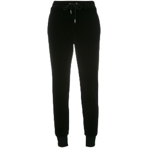 Sonia By Sonia Rykiel - velvet jogging trousers - women - コットン/ポリエステル - S