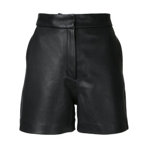 H Beauty & Youth - concealed fastening shorts - women - レザー - S