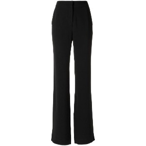 Andrea Marques - straight trousers - women - アセテート/ビスコース - 36