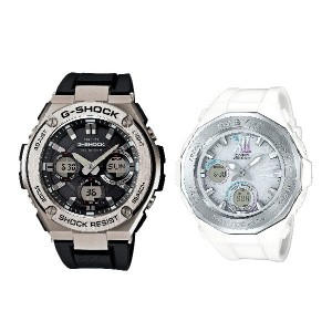 CASIO G-SHOCK BABY-G ペアウォッチ GST-W110-1AJF BGA-2200-7BJF