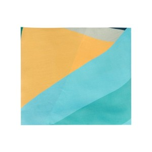 Faliero Sarti - colour block scarf - women - シルク - ワンサイズ