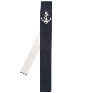 Thom Browne - anchor straight tie - men - シルク - ワンサイズ