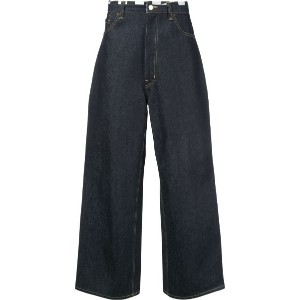 Facetasm - wide-leg jeans - men - コットン - 3