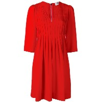 Sonia By Sonia Rykiel - pleated mini dress - women - ポリエステル/ビスコース - 38