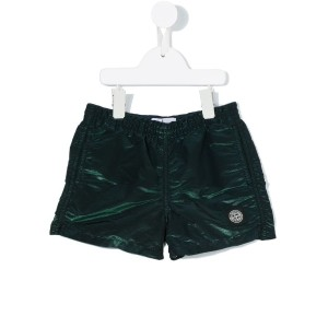 Stone Island Junior - iridescent swim shorts - kids - ポリアミド/ポリエステル - 4歳