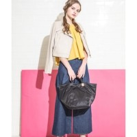 THREE STYLE TOTE(THE CLOUDS)【ラシット/russet トートバッグ】