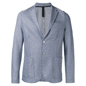 Harris Wharf London - patterned blazer - men - コットン - 48