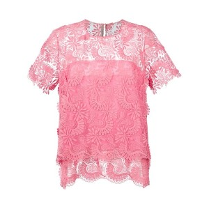 Ermanno Scervino - double-layer blouse - women - コットン/ポリエステル - 42