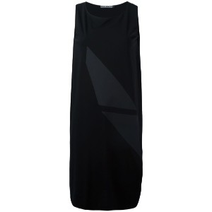 Issey Miyake - sleeveless asymmetric dress - women - コットン - 2