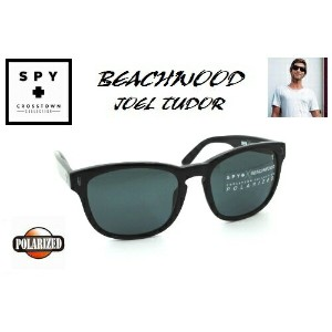 ★SPY★スパイ★CROSSTOWN★BEACHWOOD JOEL TUDOR★BLACK-GREY POLAR★偏光★サングラス