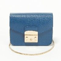 フルラ バッグ ショルダーバッグ FURLA BGZ7 851165 ARE-BL7 BLU GINEPRO 【METROPOLIS MINI CROSSBODY】