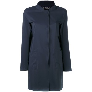 Herno - single-breasted coat - women - ポリアミド - 44
