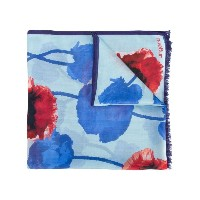 Emanuel Ungaro - floral print scarf - women - モーダル/シルク - ワンサイズ