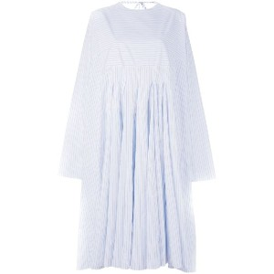 Ter Et Bantine - striped oversized smock dress - women - コットン - 44