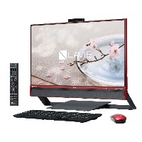 新品 NEC LAVIE Desk All-in-one PC-DA770DAR [クランベリーレッド].