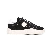 Eytys - lateral patch lace-up sneakers - women - レザー/スエード/rubber - 37