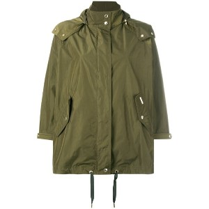 Woolrich - hooded tent parka - women - ポリアミド/ポリエステル - M