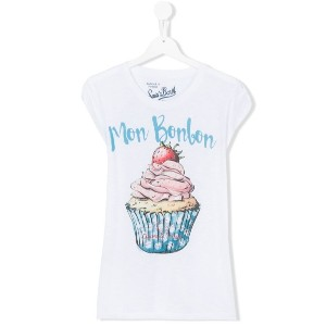 Mc2 Saint Barth Kids - teen Amelie cupcake T-shirt - kids - コットン - 16 yrs