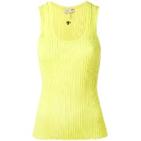 Emilio Pucci - round neck ribbed tank - women - ビスコース - L