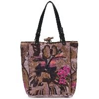 Jamin Puech - embroidered tote - women - ラフィア - ワンサイズ