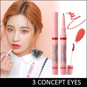[3 CONCEPT EYES] 3CE STUDIO VELVET CREAM LIP and PENCIL - Cream Lip 3.2g / Pencil 0.2g