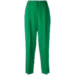 Diane Von Furstenberg - tailored cropped trousers - women - スパンデックス/ウール - 6
