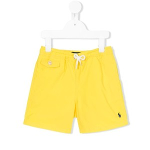 Polo Ralph Lauren - drawstring swim shorts - kids - ポリエステル - 10歳