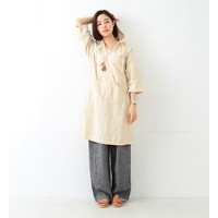 orslow / MEXICO LONG ONEPIECE【ビームス ウィメン/BEAMS WOMEN レディス ワンピース WHITE ルミネ LUMINE】