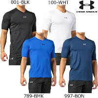 Under Armour アンダーアーマー UA HEATGEAR ARMOUR FITTED HS V-NECK ヒートギアアーマー フィッティド HS Vネックシャツ (1295265...