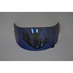 NEW ブルー ミラー イリジウム ヘルメット Visor Shield for Suomy Spec 1r Extreme Apex Excel (Aftermarket Shield) ...