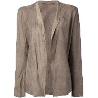 Salvatore Santoro - open-front jacket - women - レザー - 38