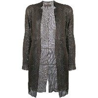 Salvatore Santoro - mesh detail coat - women - シープスキン - 40