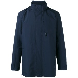 Z Zegna - high neck jacket - men - ポリエステル - XXL