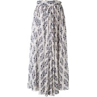 Forte Forte - diamond print skirt - women - コットン - 1