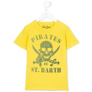 Mc2 Saint Barth Kids - pirates print Rock T-shirt - kids - コットン - 8歳
