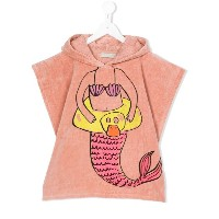 Stella Mccartney Kids - mermaid robe - kids - コットン - ワンサイズ