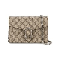 Gucci - Dionysus GG Supreme 斜めがけバッグ - women - レザー/metal - ワンサイズ