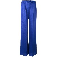 Max Mara - straight-leg trousers - women - シルク - 46